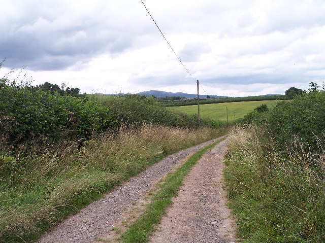 Old road to Upper Townend