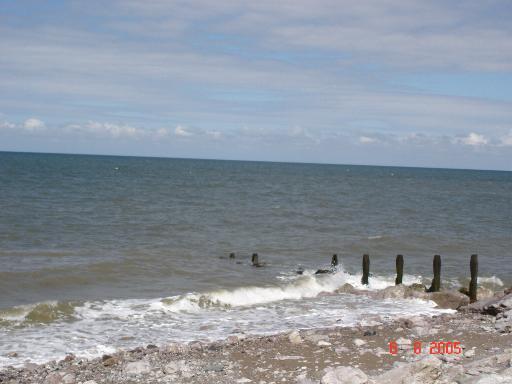 Beach at Llanddulas