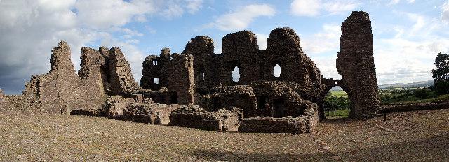 Brough Castle Panorama