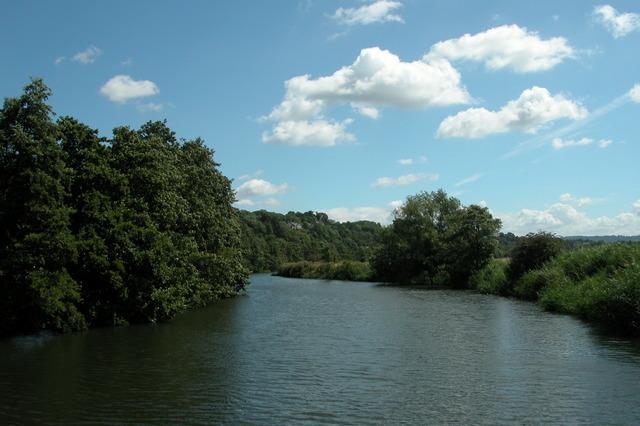 River Avon, passing through Kelston Park.