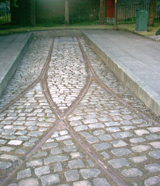 Old Tram Turning Triangle