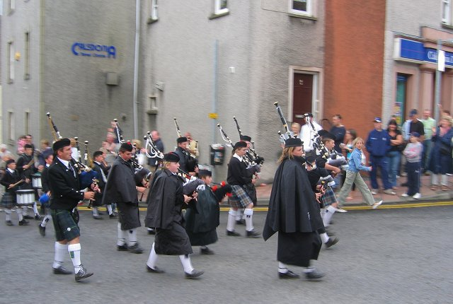 Pipe band, Inverkeithing