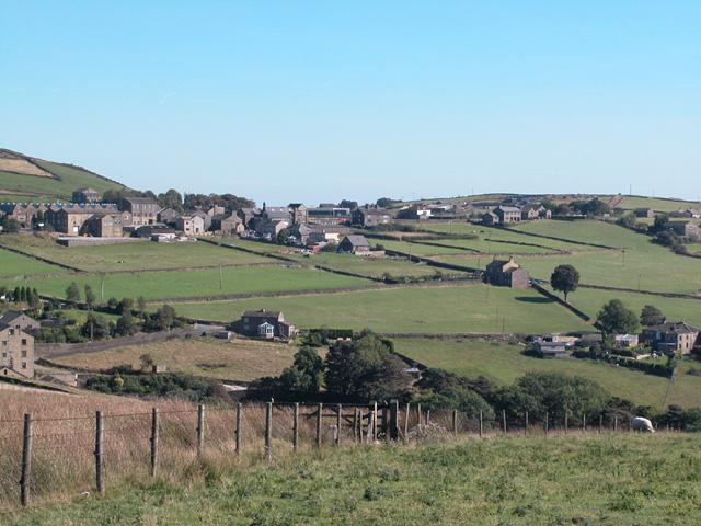 Wainstalls, Moorland Village
