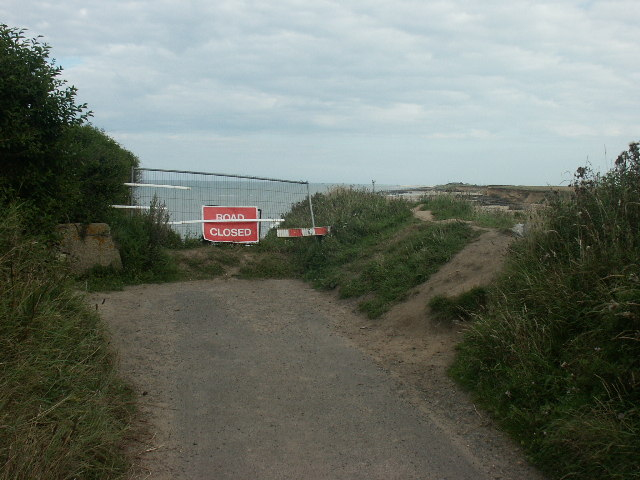 End of Beach Road, Happisburgh