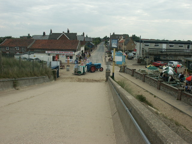 Sea Palling beach area