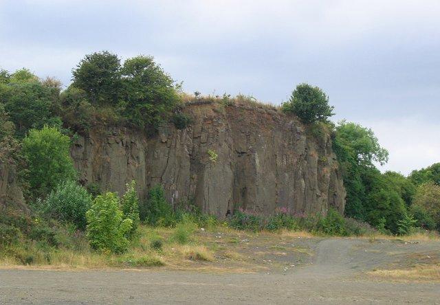 Quarry, East Ness.