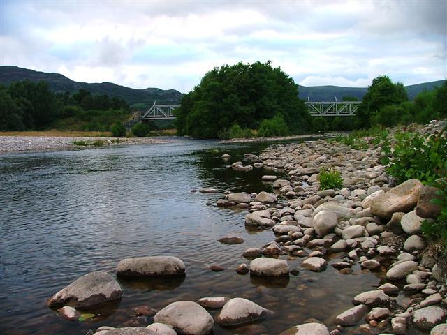 Railway Bridge over the River Spey