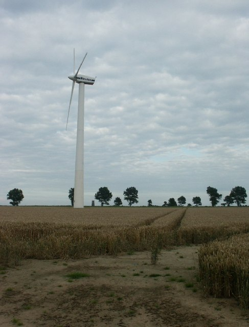 Wind turbine, Somerton