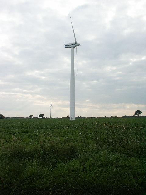 Wind turbines, Somerton