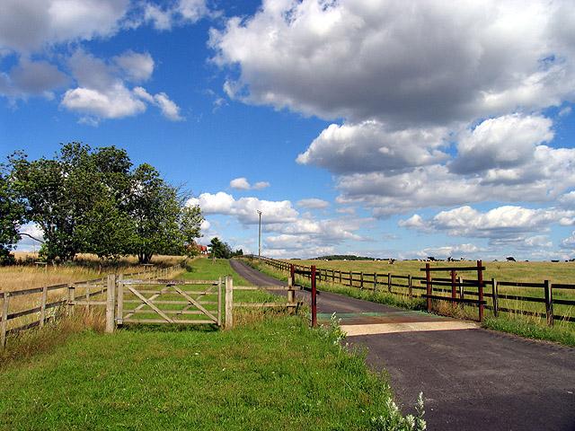 Down Farm near Worlds End