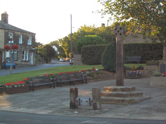 Guiseley stocks and cross