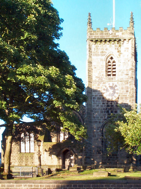 St Oswald's parish church, Guiseley