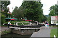 ST6967 : The Jolly Sailor, Saltford Lock on the River Avon. by Martyn Pattison