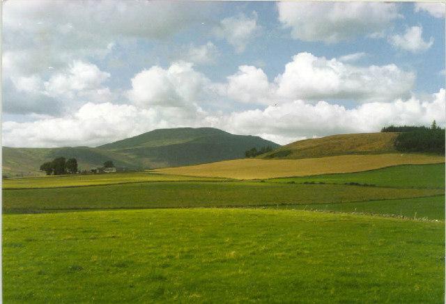 Upper Ruthven, Knockargety Hill & Morven