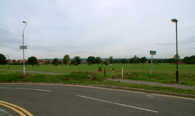 Ashburton Playing Fields, Croydon, from the south