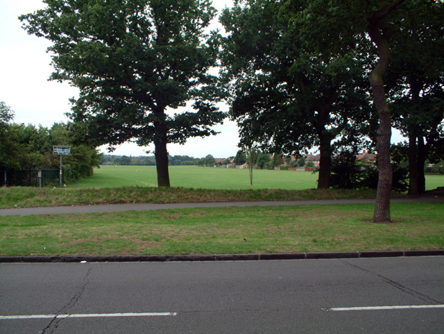 Ashburton Playing Fields, Croydon, from the north