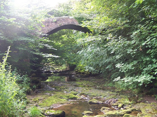 Roman bridge, Inverkip