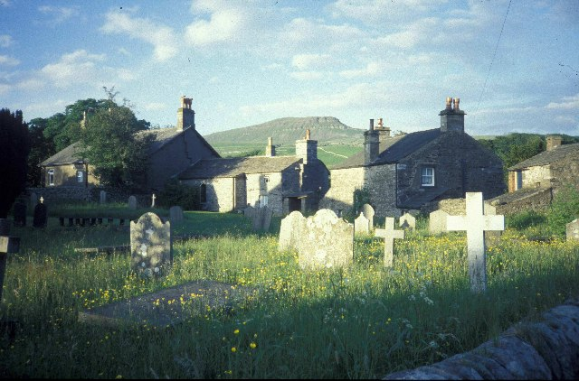 Churchyard at Horton in Ribblesdale