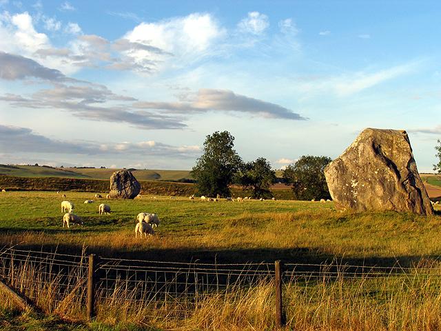 Remains of Avebury Stone Circle