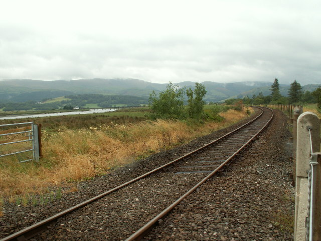 Railway near Glandyfi
