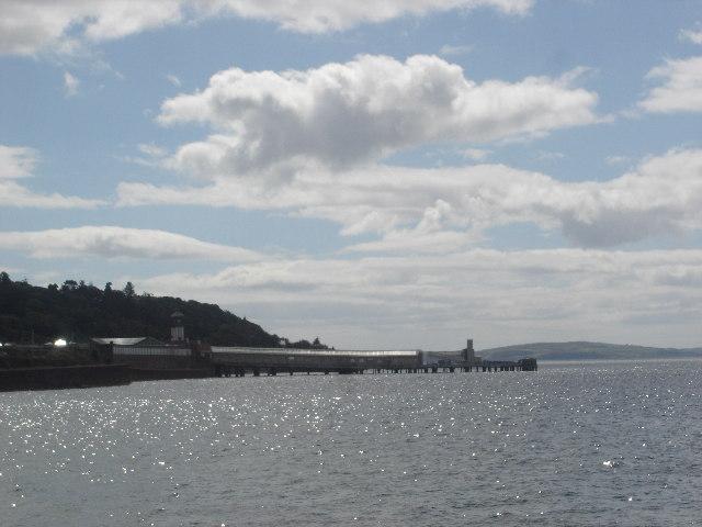 Wemyss Bay Pier Firth of Clyde