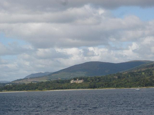 Castle Toward from Bute Ferry