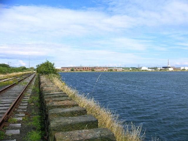 Cavendish Dock, Barrow from railway sidings