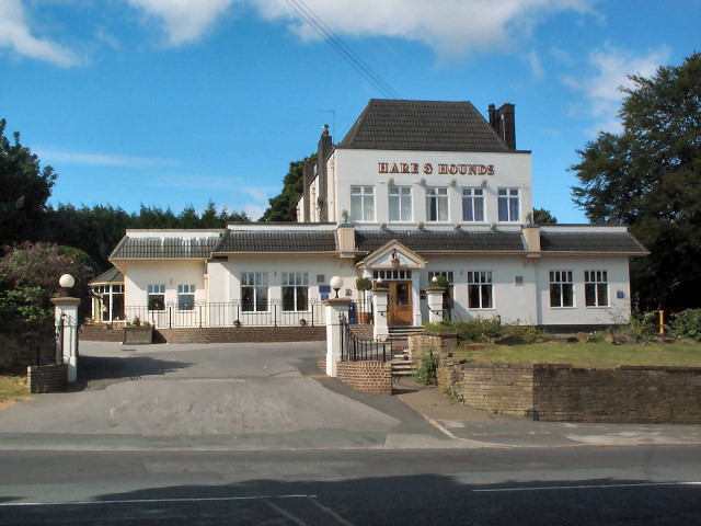Hare & Hounds pub, Toller Lane