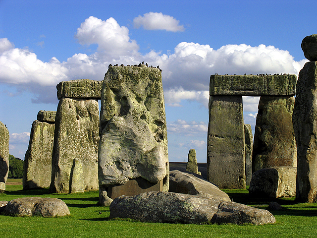 Bird's Resting Place: Stonehenge