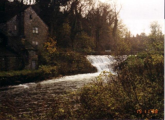 River Lathkill at the Mill Pond, Alport