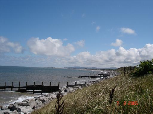 Sea view from Cyclepath 5