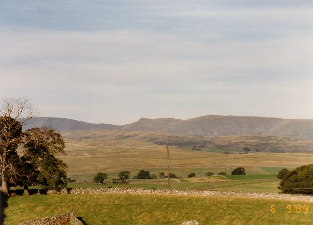 Kidsty Pike from Croft Hill