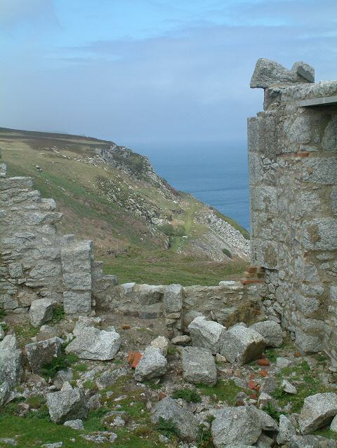 Old Tramway on Lundy
