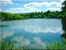 SD7415 : Walves Reservoir by John Lomas