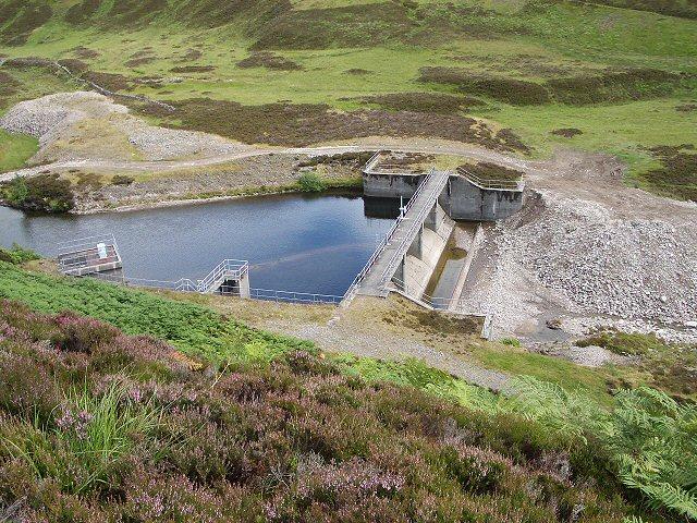 Dam in Glen Bruar