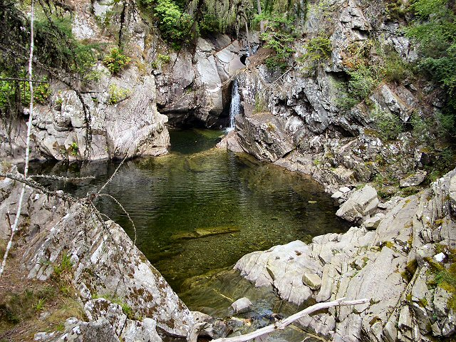 Pool at Falls of Bruar