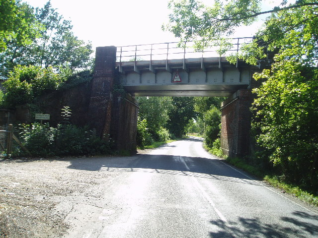 Railway bridge near Lingfield
