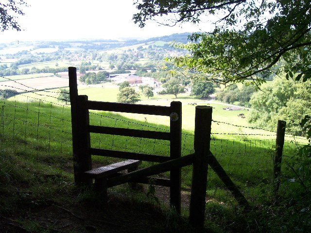 Stile on Cockshot Hill