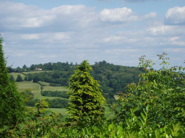 Looking towards Ide Hill