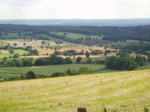 Looking south from the North Downs
