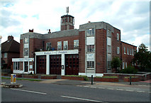 TQ3865 : West Wickham Fire Station by Philip Talmage