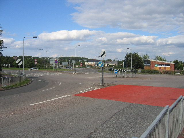Tollbar End roundabout