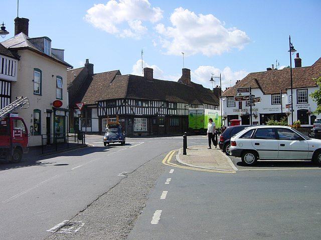 Lenham town centre