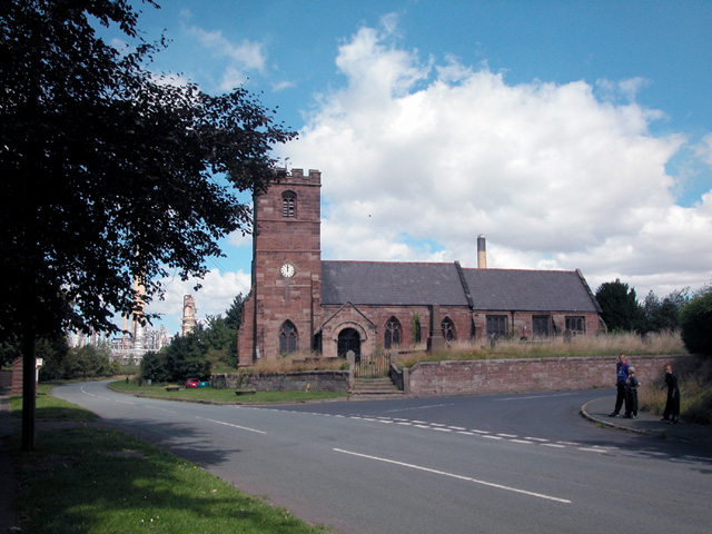 Thornton le Moors Church