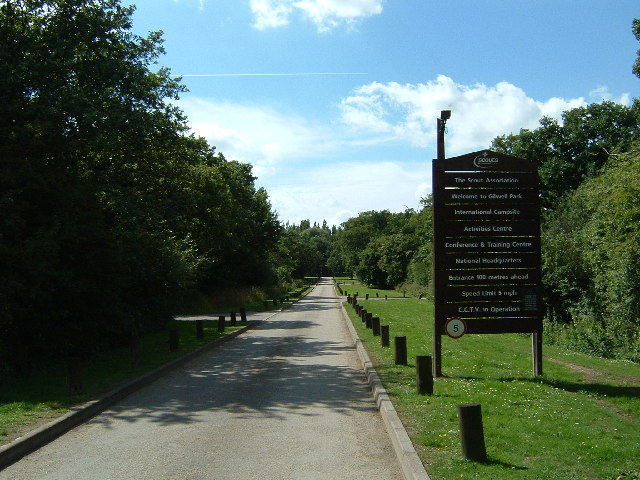 Gilwell Park entrance