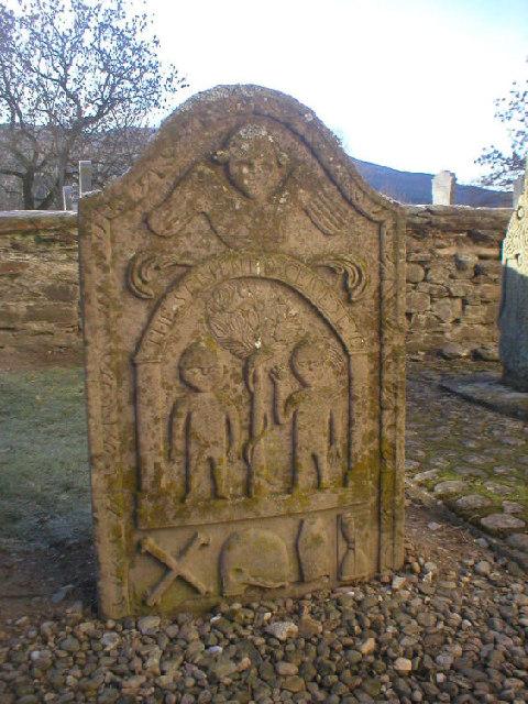 'Adam and Eve' Stone, Logie Rait