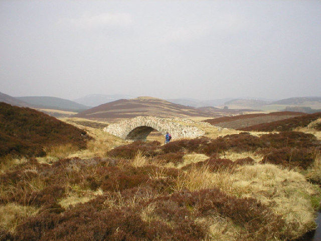 'Wade Bridge' near Corgarff, Strathdon
