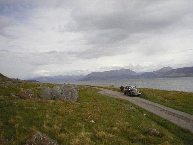 Loch Linnhe from near Rubhe na h-Airde Seiliche