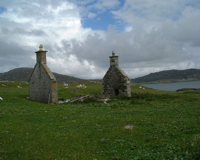 Derelict Croft, Uidh, Vatersay
