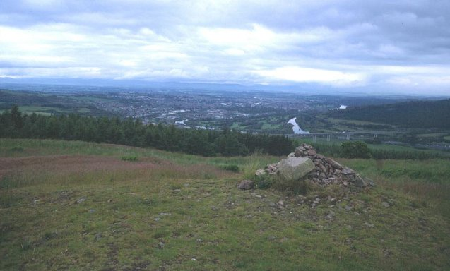 Summit of Moncreiffe Hill
